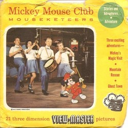 Mickey Mouse Club Mouseketeers View-Master