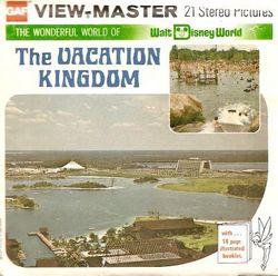 Walt Disney World The Vacation Kingdom View-Master Set image