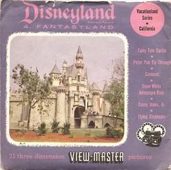 Disneyland Fantasyland View-Master Set 854