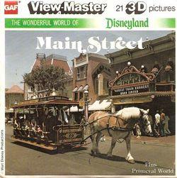 Disneyland Main Street Plus Primeval World K1