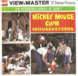 Mickey Mouse Club Mouseketeers View-Master B524