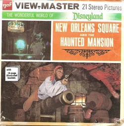 Disneyland New Orleans Square Haunted Mansion View-Master
