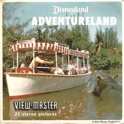 Disneyland Adventureland View-Master Set A177A