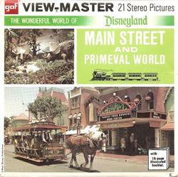 Disneyland Main Street & Primeval World View-Master A175 image