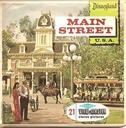 Disneyland Main Street View-Master Set A175 S6 image
