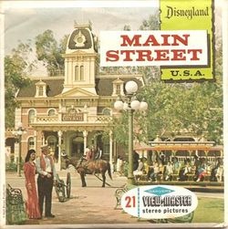 Disneyland Main Street View-Master Set A175 image