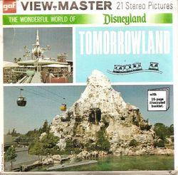 Disneyland Tomorrowland View-Master A179 Series E
