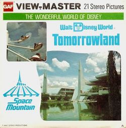 Walt Disney World Tomorrowland ViewMaster A952 image