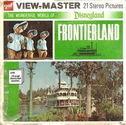 Disneyland Frontierland View-Master A176 Series E image