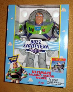 Original Talking Buzz Lightyear (Imperfect)