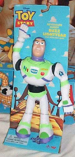 Toy Story Buzz Lightyear Adventure Buddy Plush