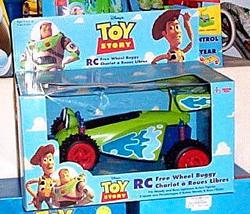 Toy Story Free-Wheel RC Car