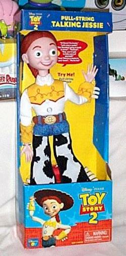 Toy Story 2 Pull-String Talking Jessie