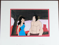 Alley Oop Production Cel image