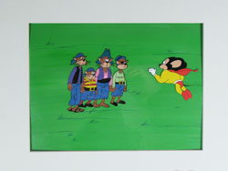 New Adventures of Mighty Mouse Production Cel