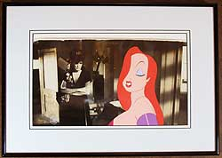 Jessica Rabbit - Disney's Who Framed Roger Rabbit Production Cel