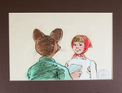 Stuart Little Production Cel image