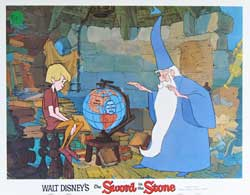 Sword in the Stone Lobby Card 0284