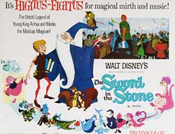 Sword in the Stone Lobby Card 0285
