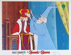 Sword in the Stone Lobby Card 0286