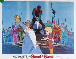 Sword in the Stone Lobby Card 0288