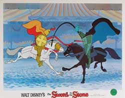 Sword in the Stone Lobby Card 0291