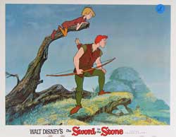 Sword in the Stone Lobby Card 0292