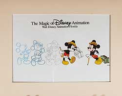 Disney/MGM Travelling Mickey Cel