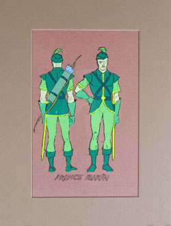 Flash Gordon - Prince Barin Model Cel image
