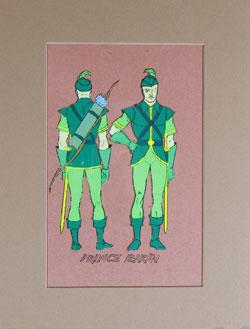 Flash Gordon - Prince Barin Model Cel