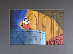Pepe Le Pew Original Animation Cel image
