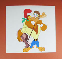 Chanticleer from Rock-A-Doodle Cel image