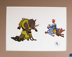 Disney's Bedknobs and Broomsticks Original Animation Cel