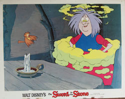 Sword in the Stone Lobby Card 1012