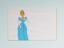 Cinderella Production Cel image