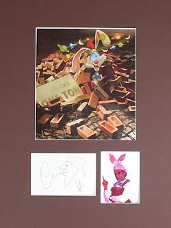 Charles Fleischer Autograph - Voice of Roger Rabbit image