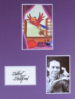 Gilbert Gottfried as Iago Autograph - *BONUS* image