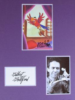 Gilbert Gottfried as Iago Autograph - *BONUS*