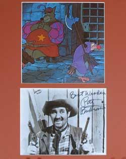 Pat Buttram Autograph image