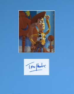 Tom Hanks Autograph - Voice of Woody image