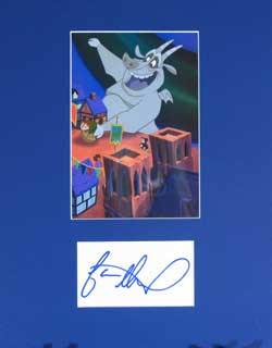 Jason Alexander Autograph - Voice of Hugo the Gargoyle image