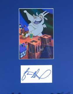 Jason Alexander Autograph - Voice of Hugo the Gargoyle