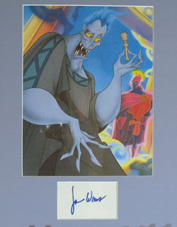 James Woods Autograph - Voice of Hades 0411 image