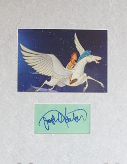 Josh Keaton Autograph - Voice of Young Hercules image
