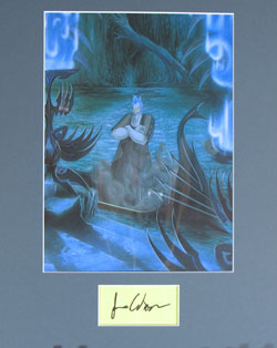 James Woods Autograph - Voice of Hades 0418 image