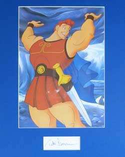 Tate Donovan Autograph - Voice of Hercules image