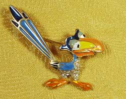 Zazu from The Lion King Brooch