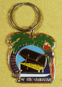 Disneyland Pirates of the Caribbean Keyring image