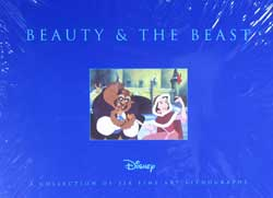 Beauty and the Beast Lithograph Set