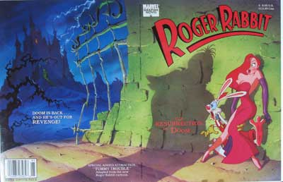Roger Rabbit Comic Book Cover image